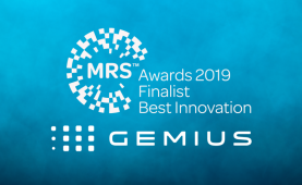 Gemius shortlisted for Best Innovation in MRS Awards 2019