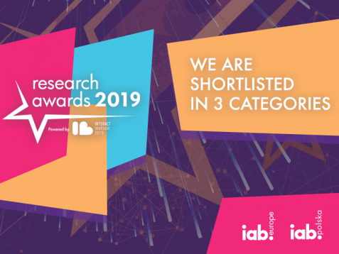 Gemius single-source solution shortlisted for IAB Research Awards